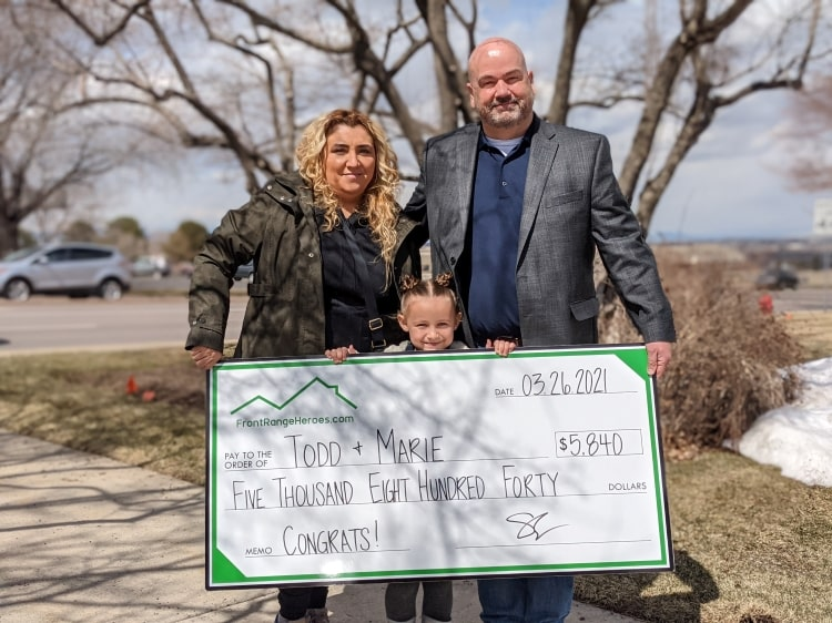 Yes. You. Can. Even in a tough market. Congrats to this awesome family!
